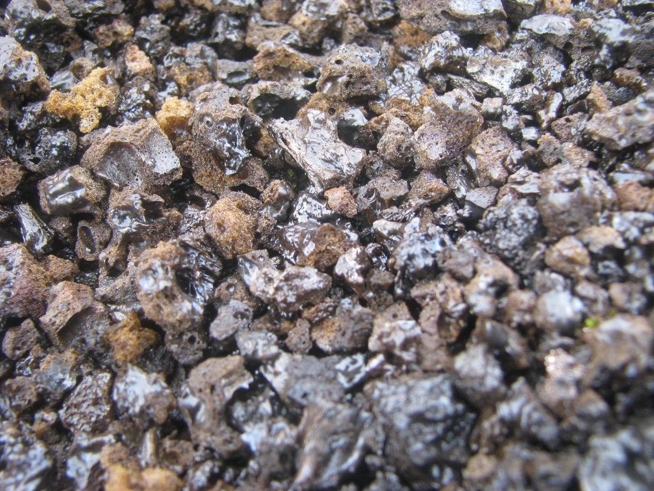 Basalt cinder