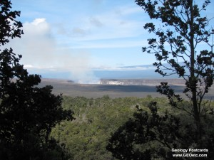 Kilauea Summit Plume