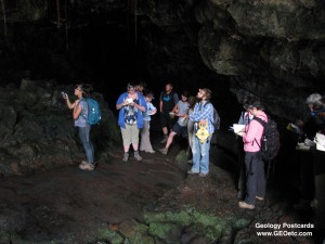 Mapping a Lava Tube