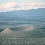 Cinder Cones - a unique volcanic feature.