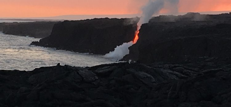 Discover Hawaii's Active Volcanoes – 2019 New Years Trip