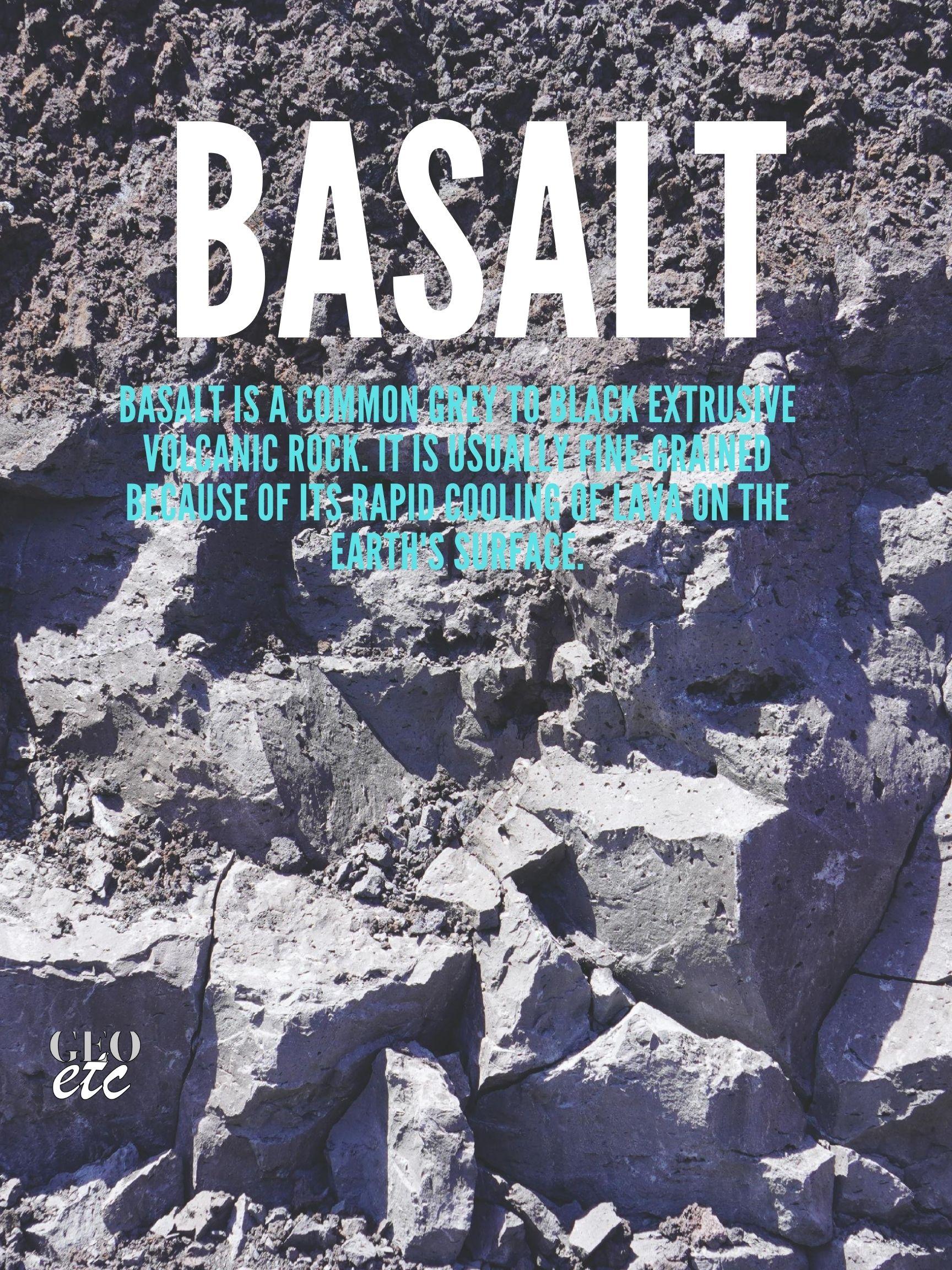 Basalt Poster
