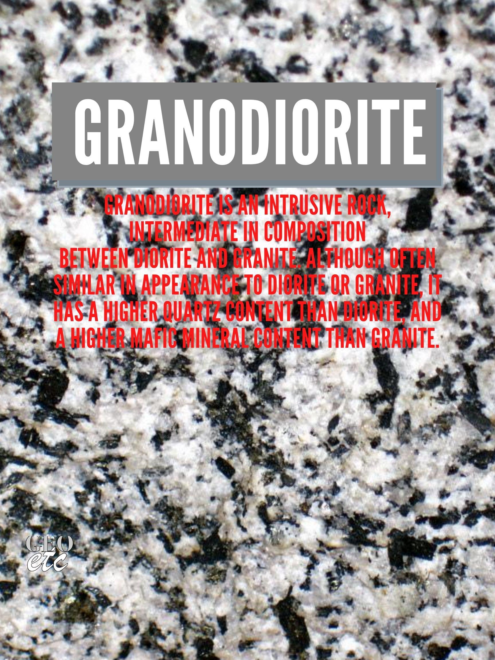 Granodiorite Poster