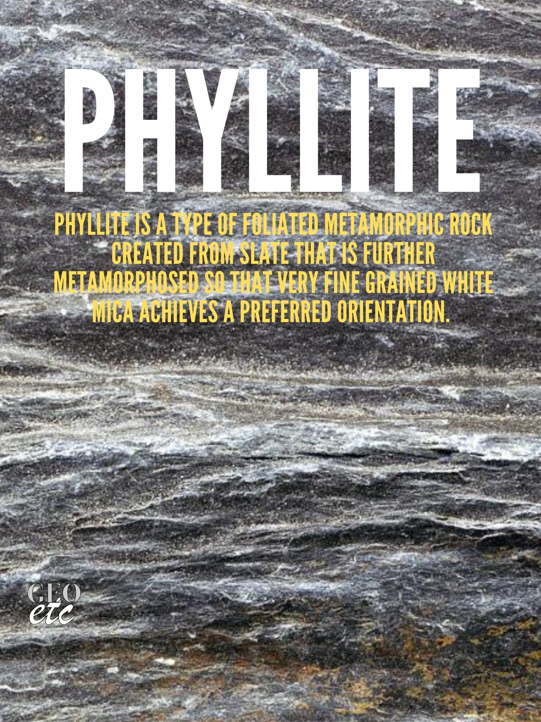 Phyllite Poster