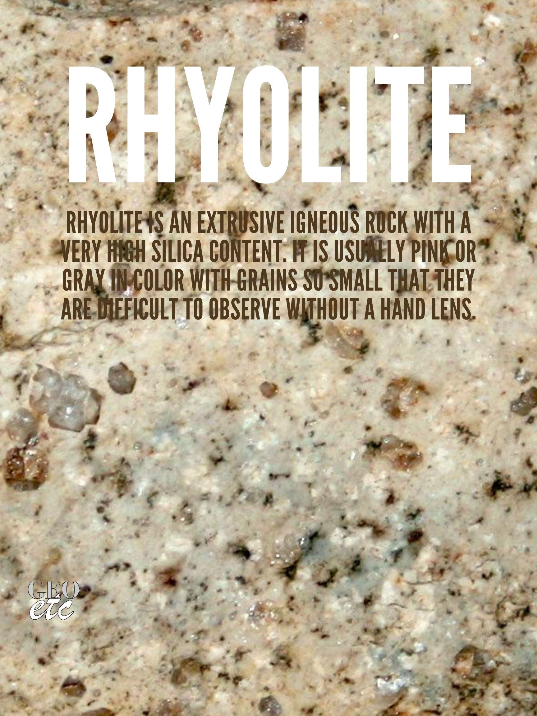 Rhyolite Poster
