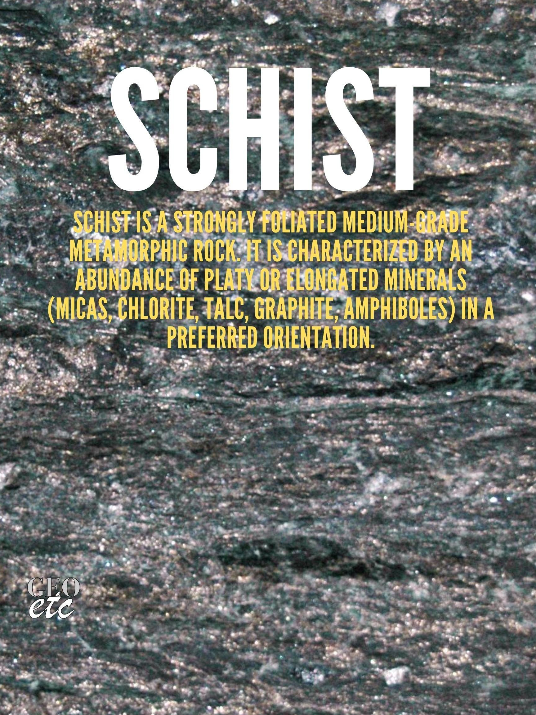 Schist Poster