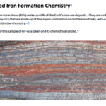 Banded Iron Formations - data graphing and more (Listen to Podcast then an activity)